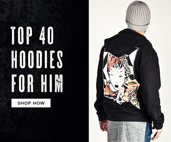 Top 40 Hoodies for Him
