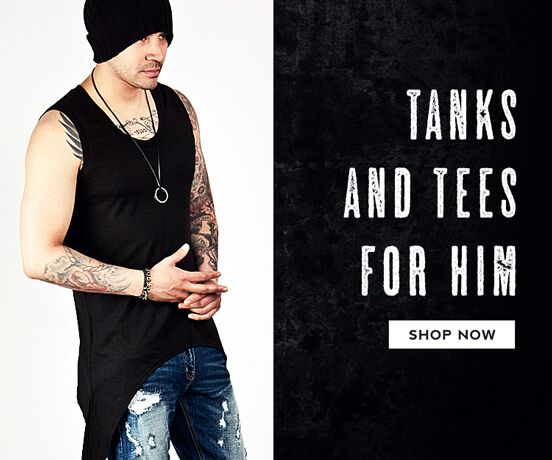 Top 40 Tanks and Tees for Him