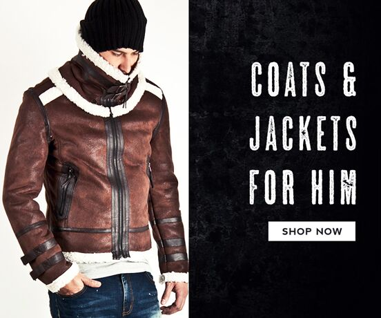 Top 40 Coats and Jackets for Him