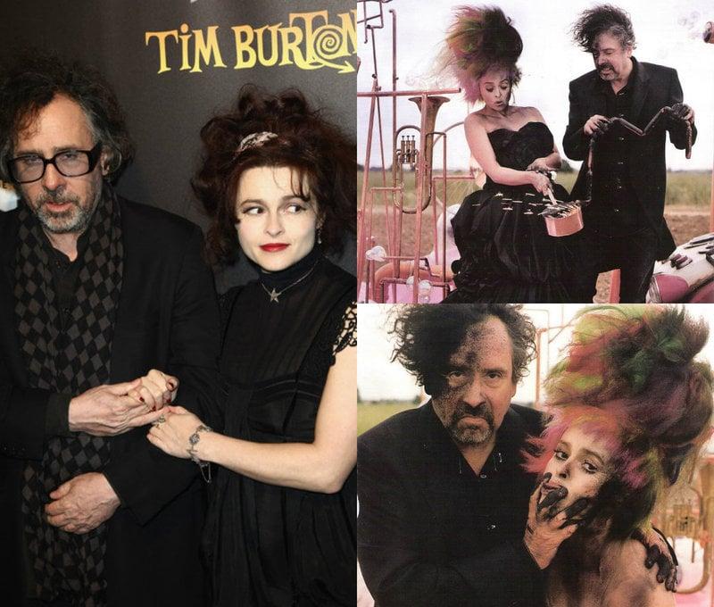 Helena Bonham Carter in Tim Burton films