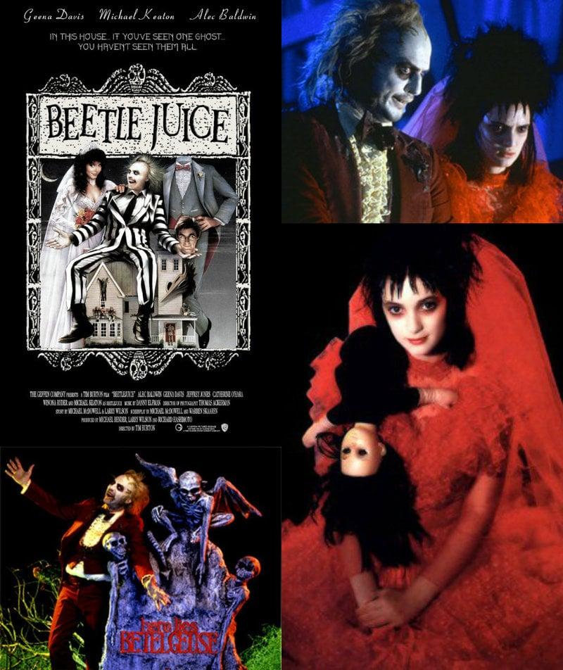 Beetlejuice Tim Burton film