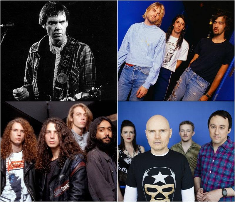 Grunge Artists