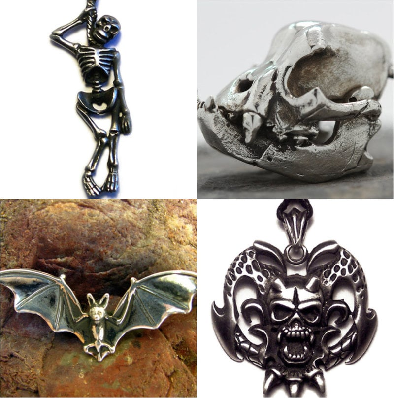 Goth pendants