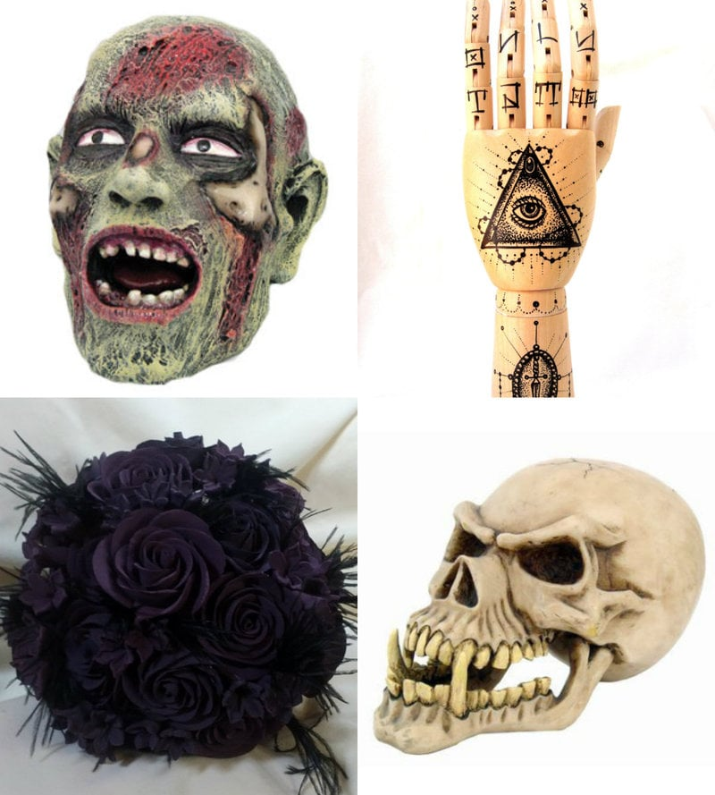 Goth collectibles