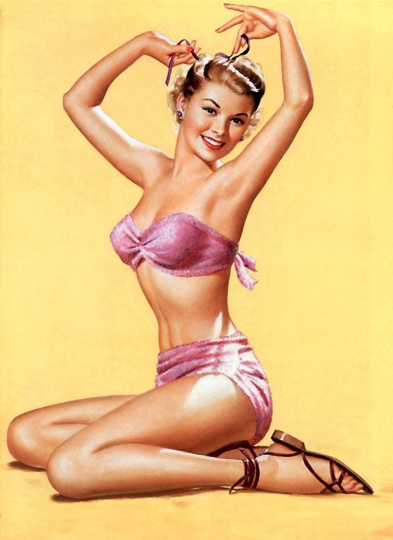 pin up ladies