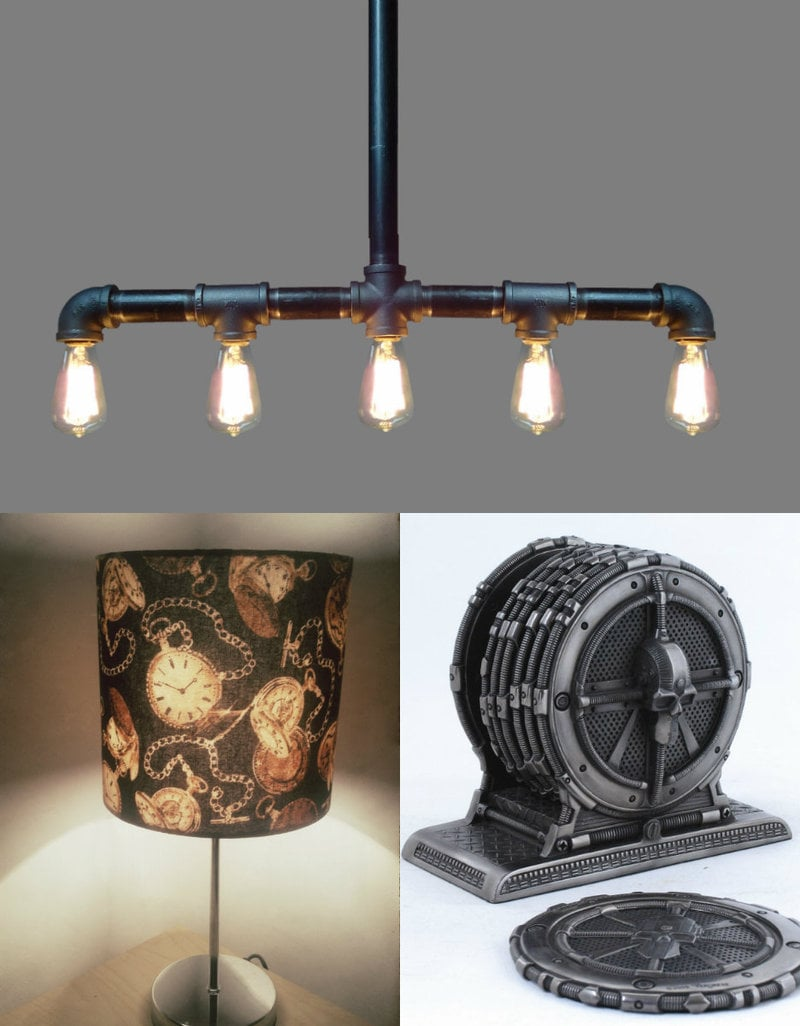 Steampunk home items