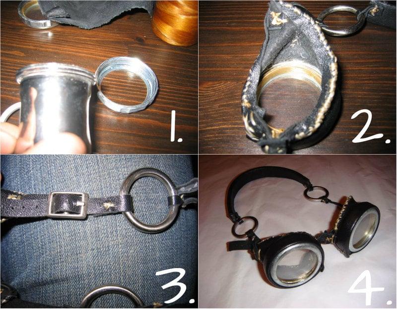 Steampunk DIY Goggles