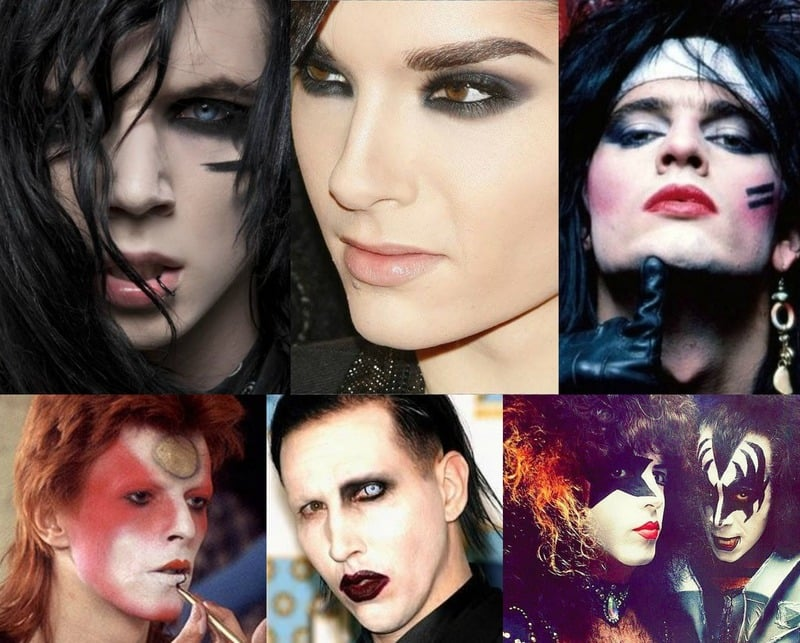 Glam Rock Signature Styles: Rocker Makeup
