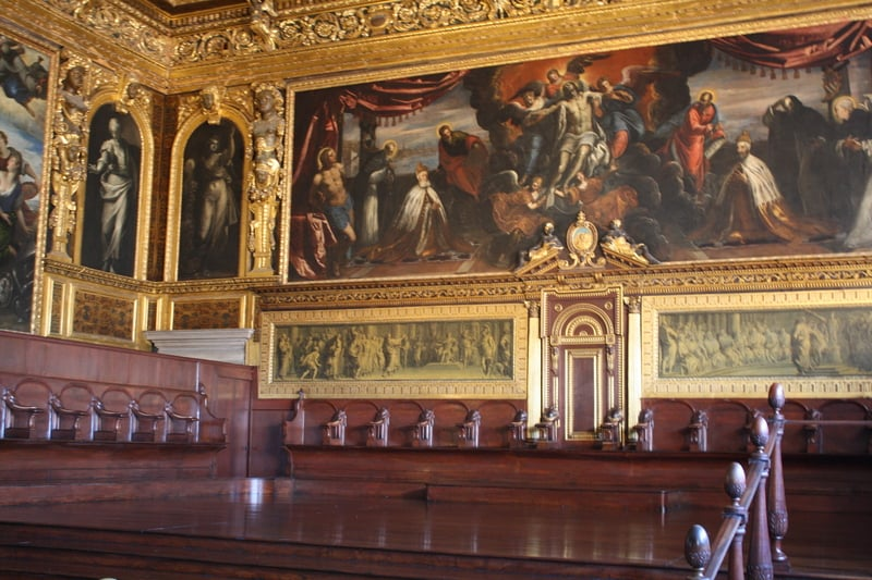 Doge's Palace, the Senate room