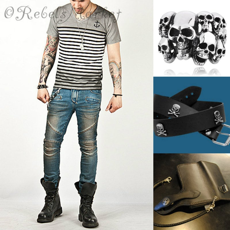 men biker fashion