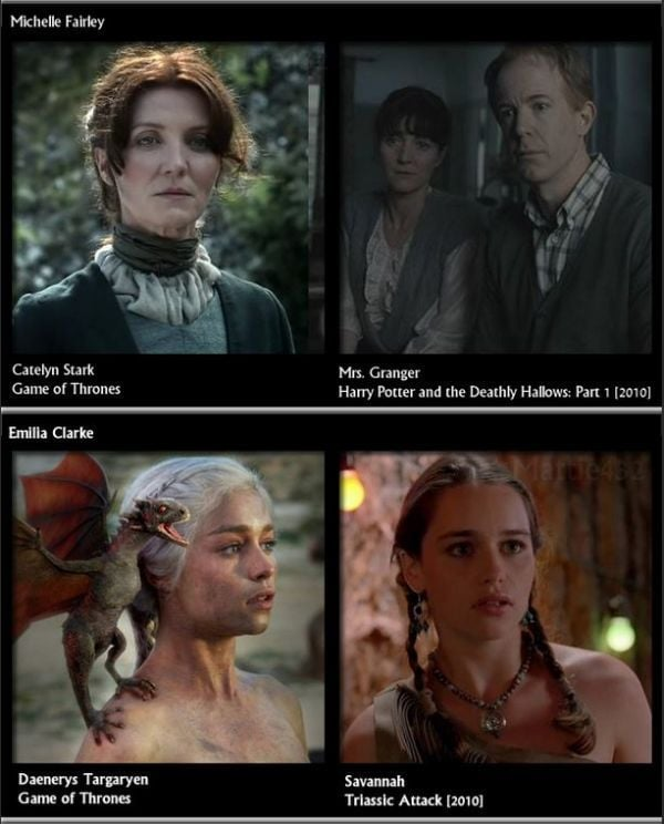 game of thrones actors before