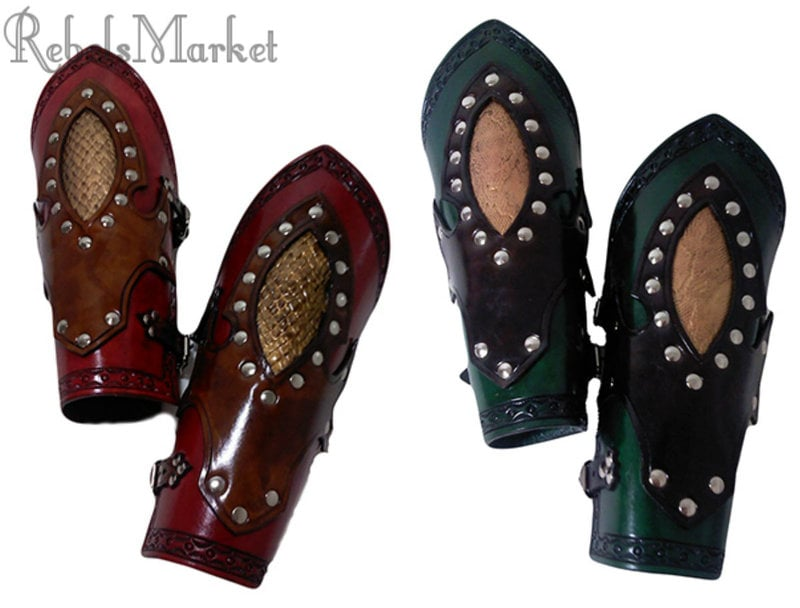 Steampunk bracers