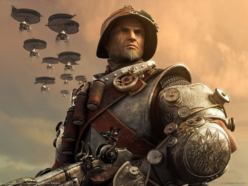 Rise of Nations: Rise of Legends Steampunk