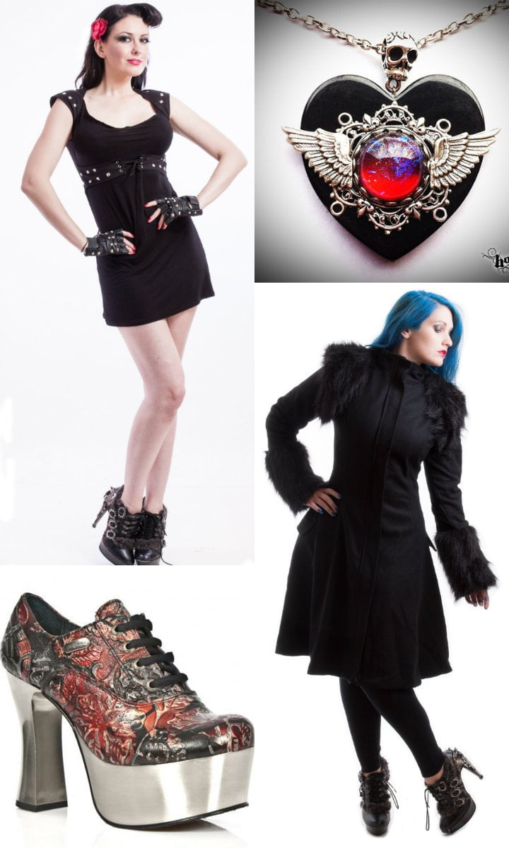 goth women clothing