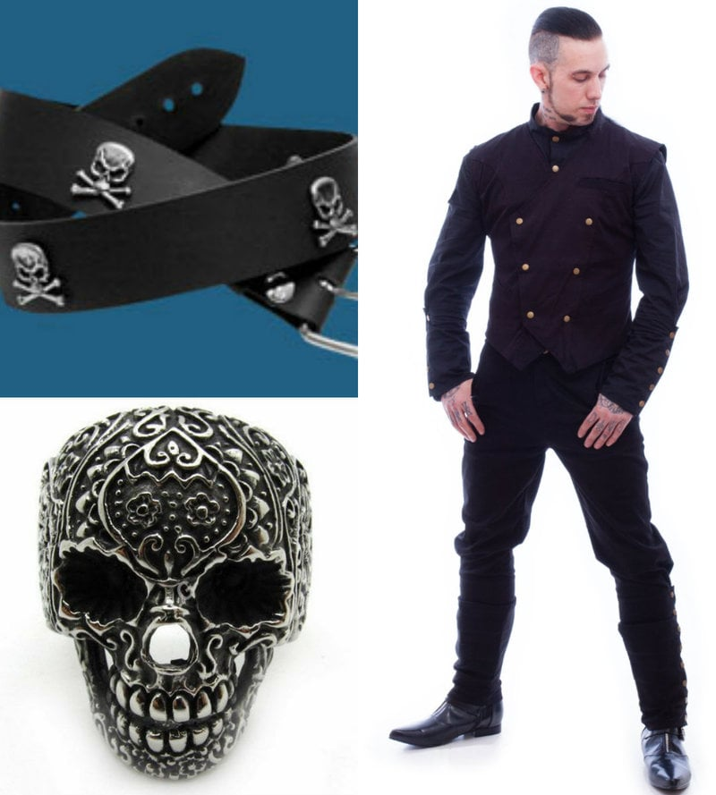 goth men clothing