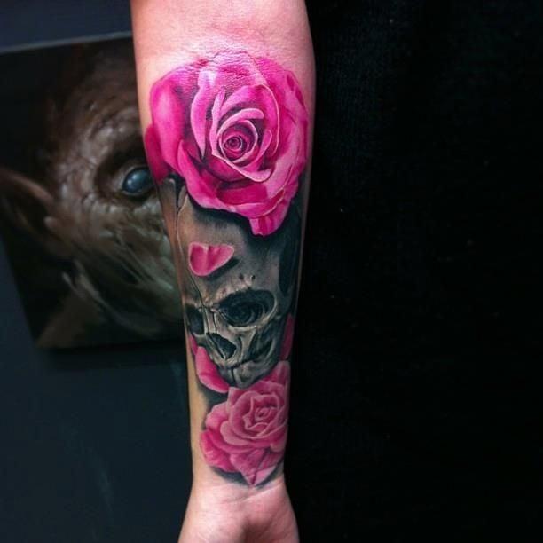 arm tattoo women