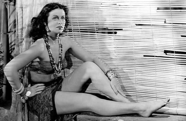 Hedy Lamarr Pin Up Model
