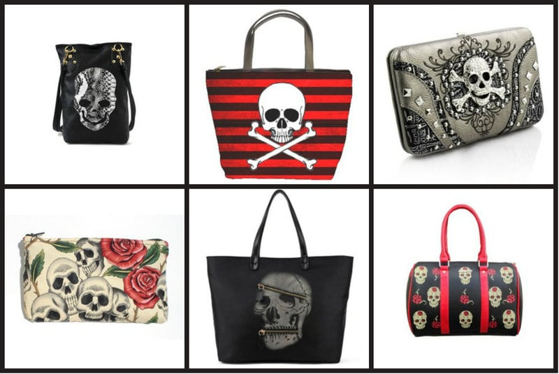 Skull Purses and Handbags