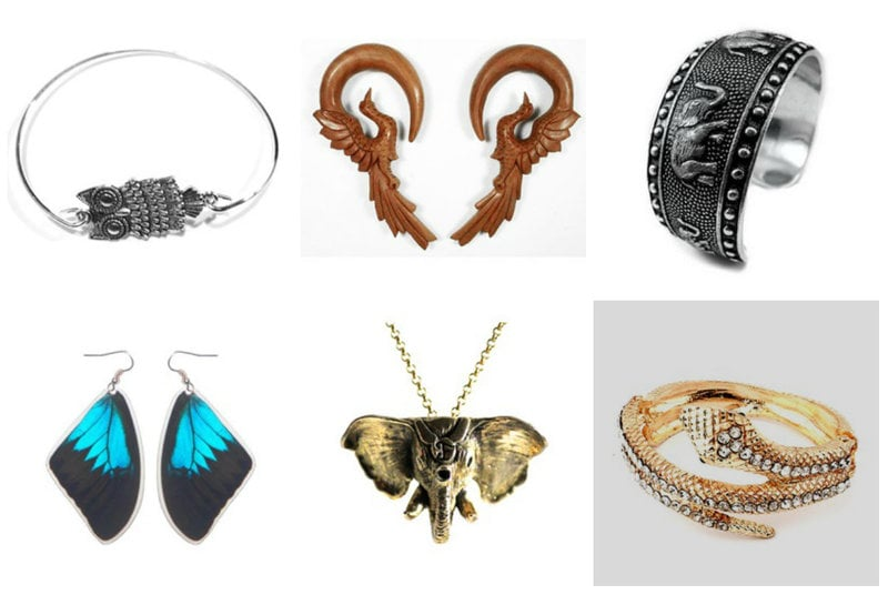 Animal inspired jewelry