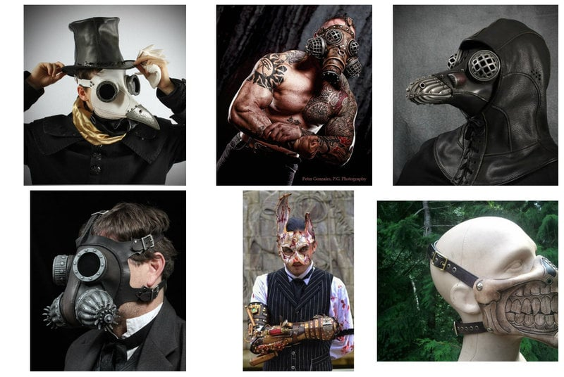 Steampunk Mask Accessories