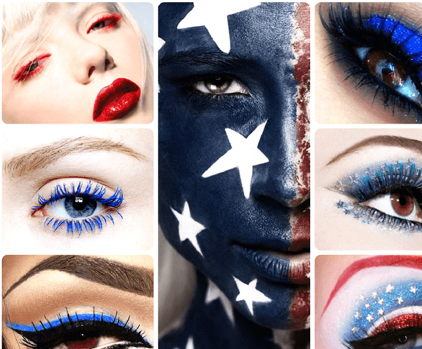 Makeup for Patriotic Holidays