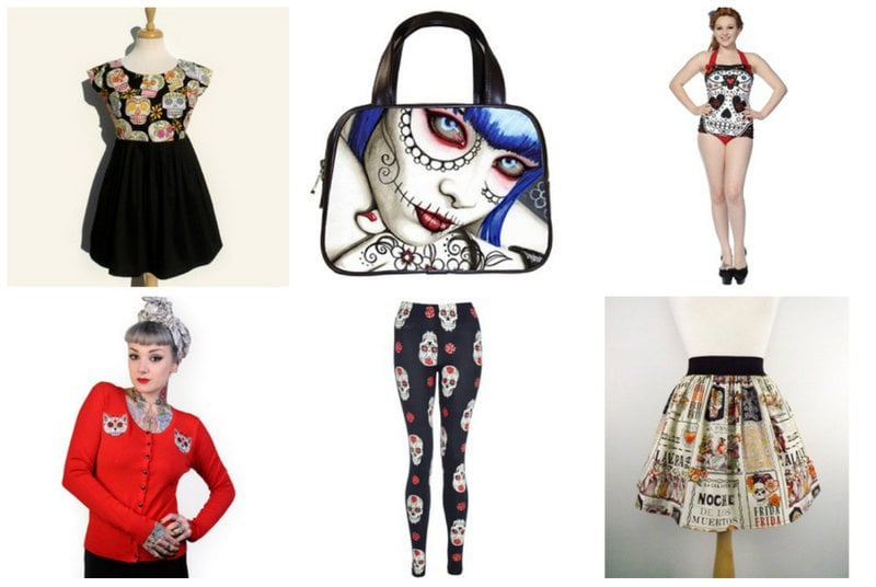Sugar Skull Fashion from RebelsMarket