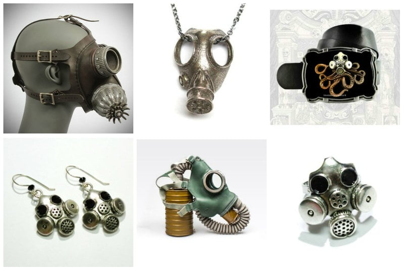 Gas Mask Fashion from RebelsMarket