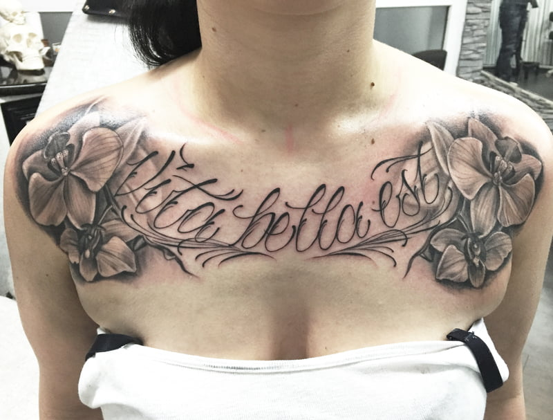 Tattoos with personal meaning.