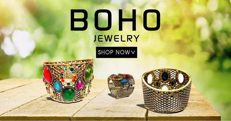 Bohemian Jewelry on RebelsMarket