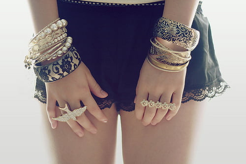 Stack and layer your bracelets