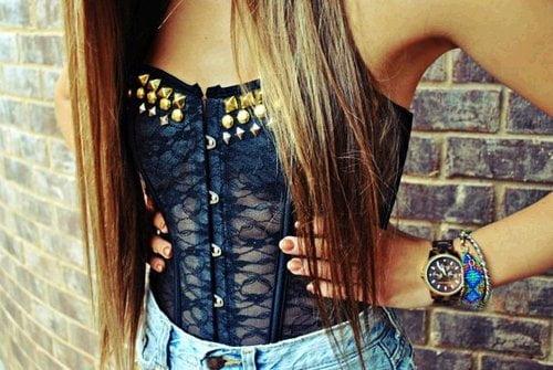 Fashion corset tops