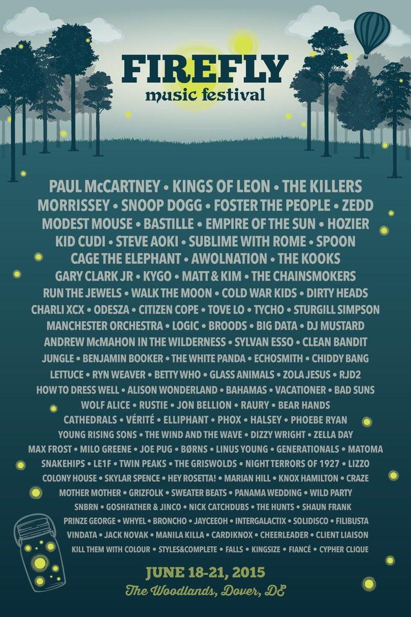 RebelsMarket will be covering Firefly Music Festival 2015