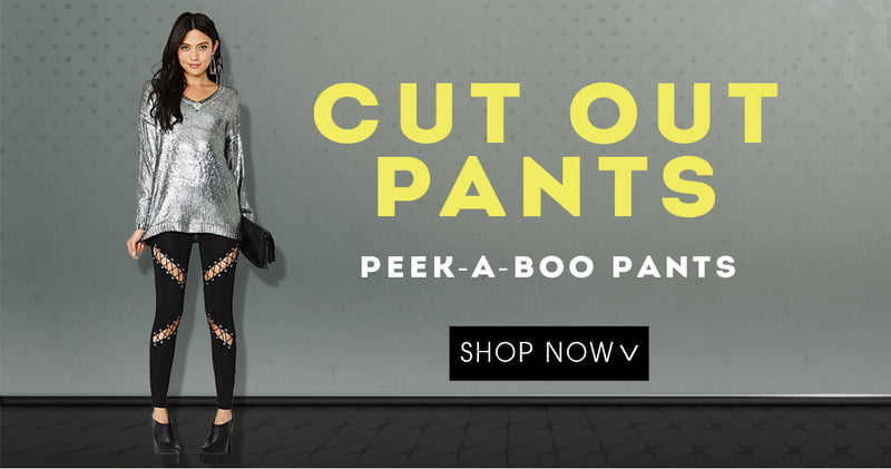 Rock and Roll Cut Out Pants