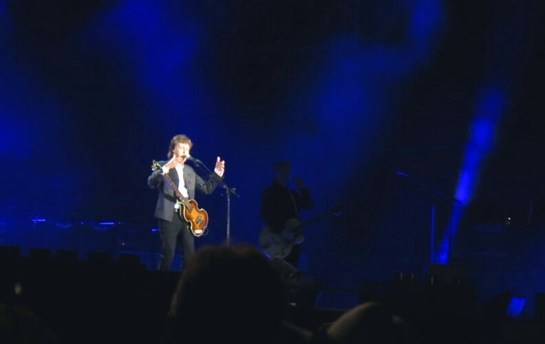 Paul McCartney headlines Firefly Music Festival 2015