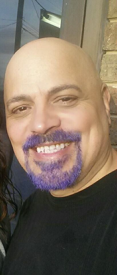 Merman Hair Purple Beard