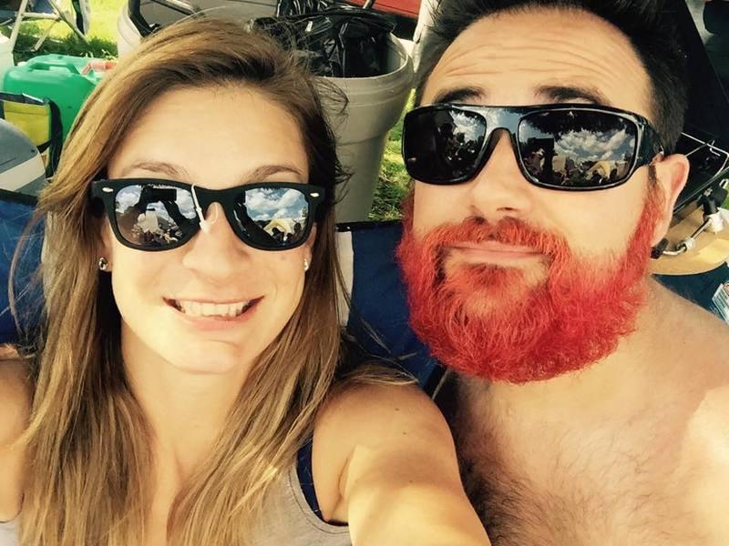 Merman Hair Red Beard