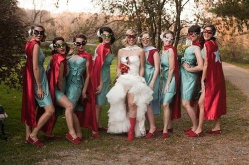 Be a super Bridesmaid!