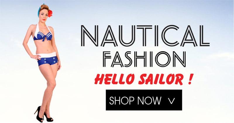 Nautical Inspired Fashion on RebelsMarket
