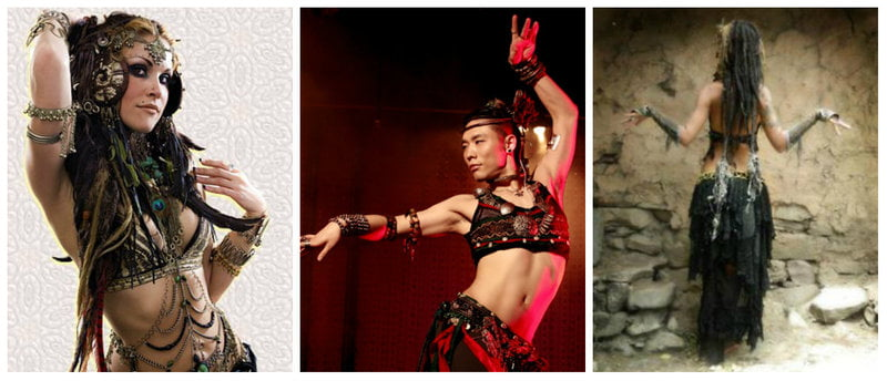 Bellydancers continue the trend of Modern Tribal fashion