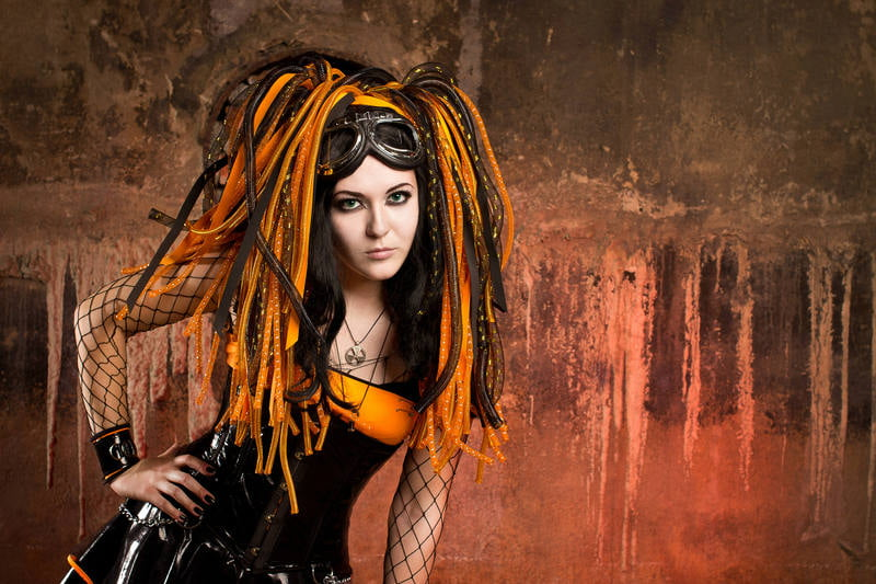 Cybergoth clothing and accessories