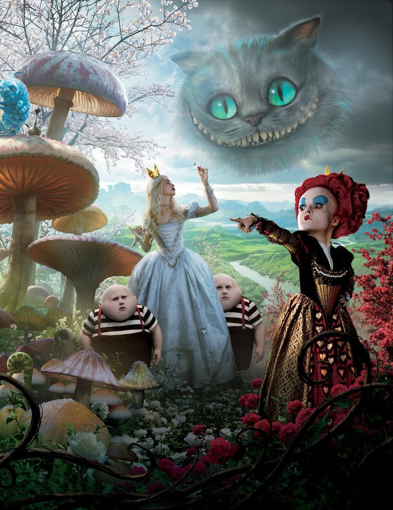 The dreamy fashions in Alice in Wonderland made it classic