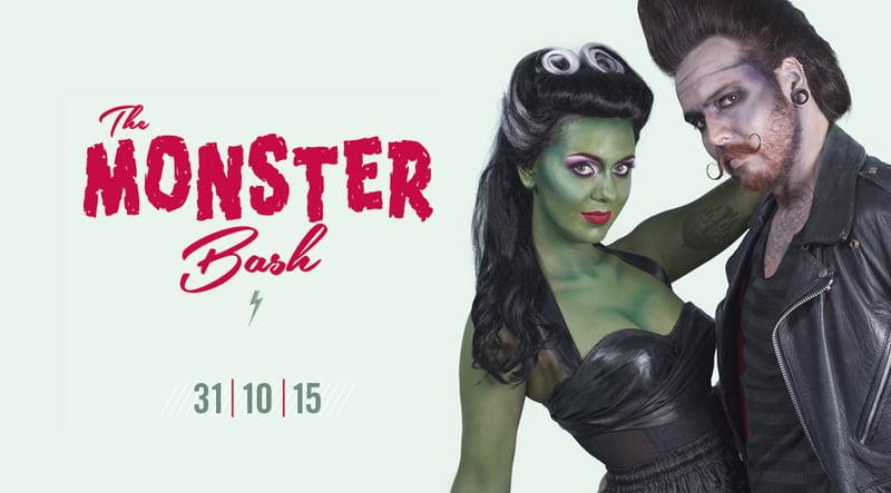 Amsterdam Spook The Monster Bash Halloween 2015