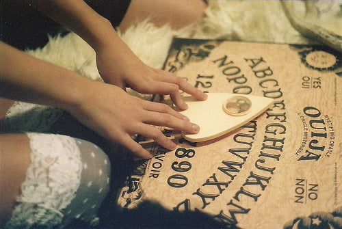 Using a Ouija Board