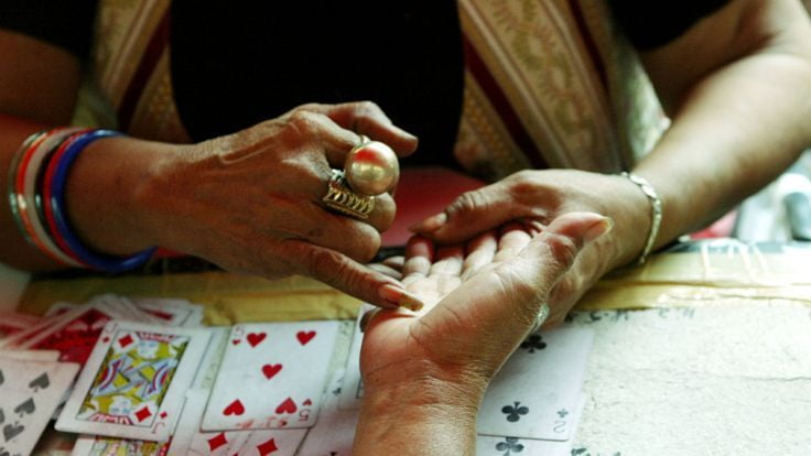 Palmistry is a well known form of fortune telling