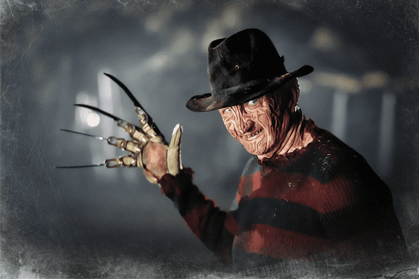 Freddy Krueger from the Nightmare on Elm Street movies