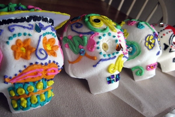 Sugar skull clothing available to buy from RebelsMarket