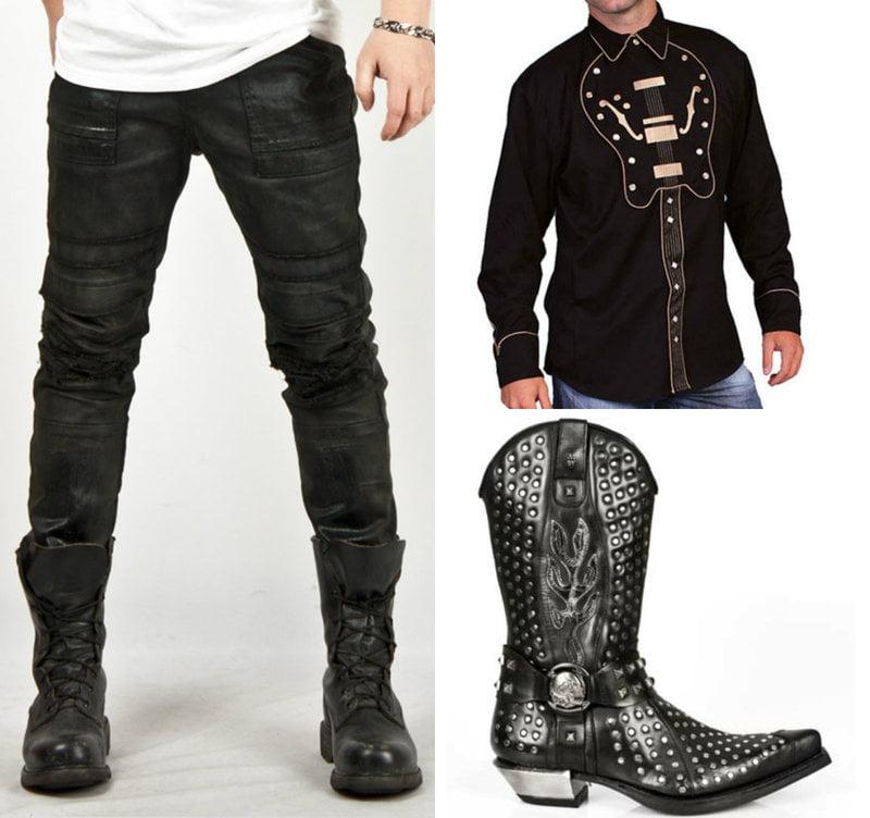 Mens Fashion like Johnny Cash