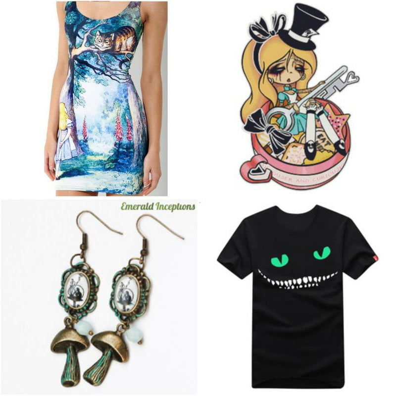 Fashion Inspired By Alice in Wonderland