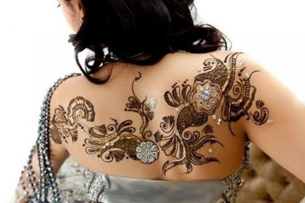 Henna has spread to use in the Western world from India