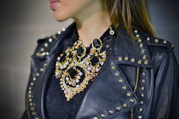 Buy leather jackets, faux leather skirts, and leather leggings at RebelsMarket.